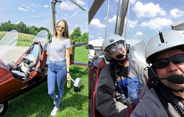 Gyrocopterflug